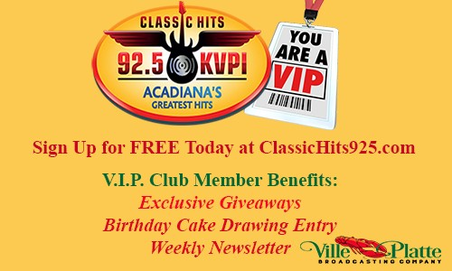 Classic Hits 92 5-KVPI-FM-Playing the Classic Hits of the