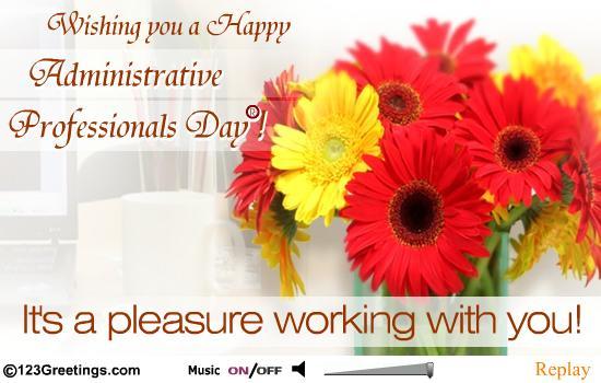 Happy administrative professionals day m4hsunfo