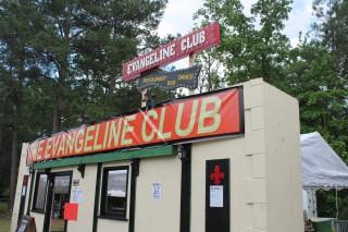 Evangeline Club sign