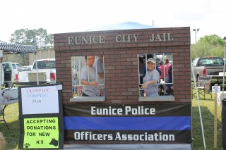 Eunice Police Booth